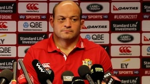 Rory Best at the press conference