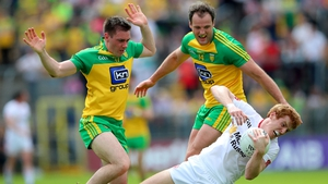 Donegal were comprehensively beaten by rivals Tyrone