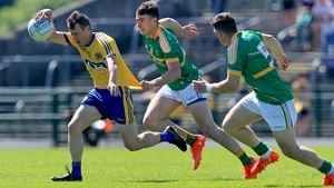 Conor Devaney scored a pair of first-half goals for Roscommon