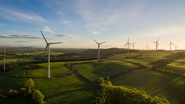 Ireland has the second highest penetration of wind-generated electricity in Europe, after Denmark