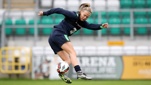 Celtic's Ruesha Littlejohn was named in the squad to face Scotland