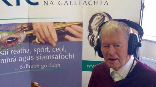Micheal Ó Muircheartaigh agus Micheál Ó Drisleáin; CLG agus bua na nDéise ar Chorcaigh inné