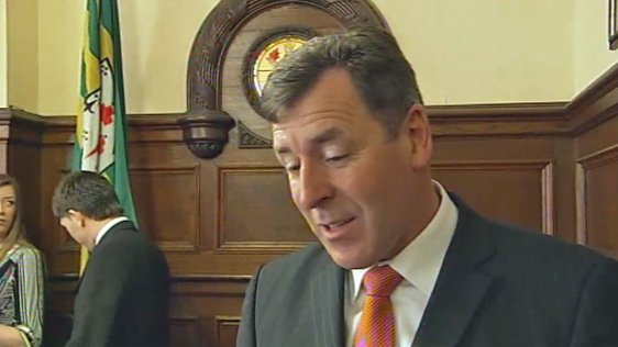Packie Bonner Receives Freedom Of Donegal