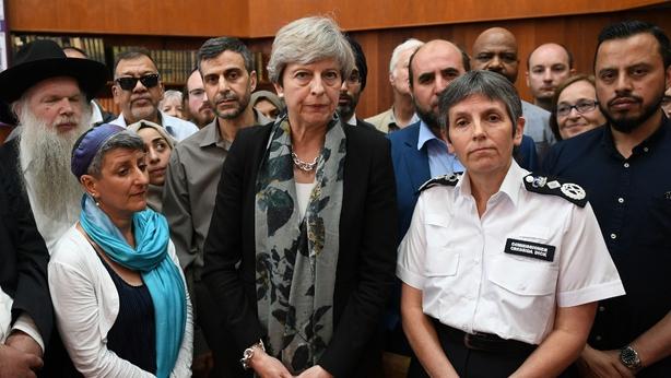 Theresa May, Finsbury Park, London