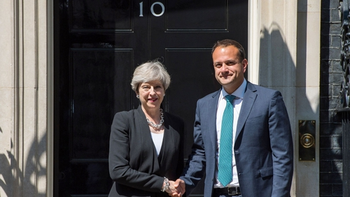 Varadkar and May to have Brexit talks in Downing Street
