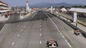 A view of the Circuit Paul Ricard in Le Castellet during the 1989 French Grand Prix