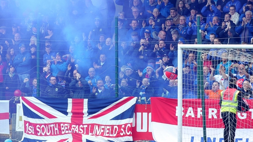 Linfield could face Celtic