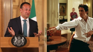 "Taoiseach Leo Varadkar - ""As we spoke on the way in I was reminded of that famous scene in Love Actually..."""