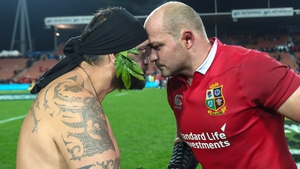 Rory Best led the Lions to their first midweek win of the tour