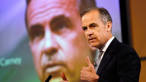 Outgoing Bank of England chief Mark Carney said the UK economy has been 'sluggish'