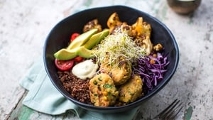 This week on Donal's Meals in Minutes, Donal Skehan dishes up a delicious serving of Falafel Quinoa Salad Bowl. Tune into RTÉ One at 8:30pm every Tuesday.