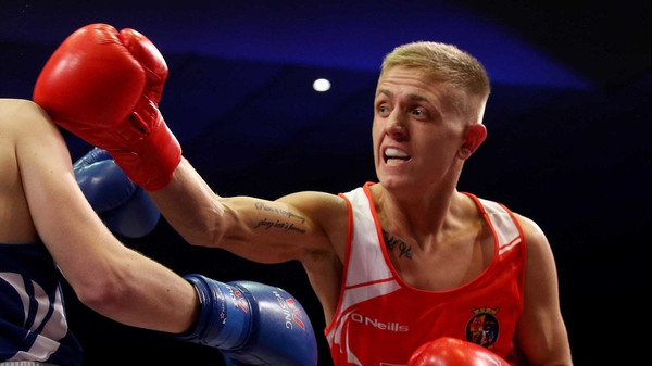 Kurt Walker is the first Irish fighter in action at the World Championships