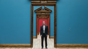 NGI Head of Collections Adriaan Waiboer, standing in the newly renovated National Gallery Of Ireland