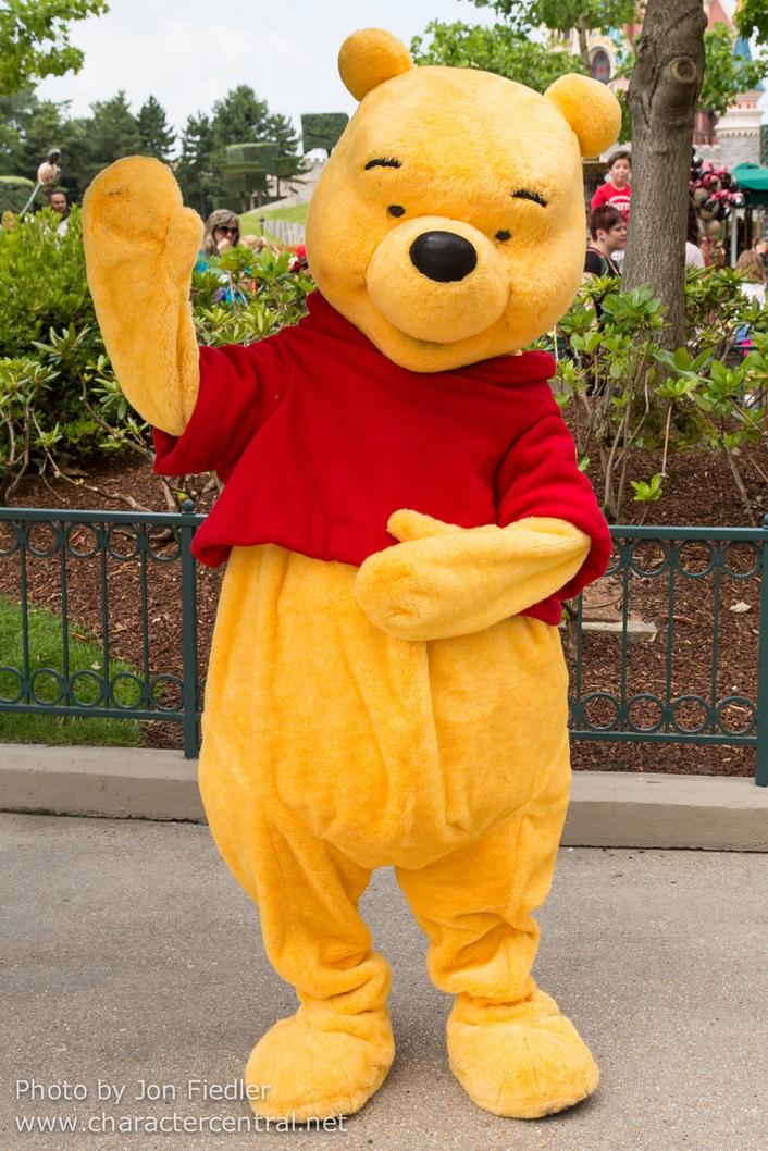 Essay:  meeting Winnie the Pooh