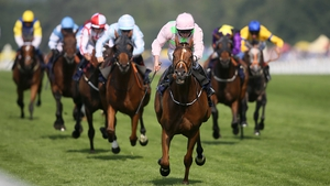 Thomas Hobson winning last year's Ascot Stakes