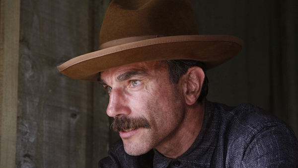 Daniel Day Lewis in one of his most intense roles in There Will Be Blood