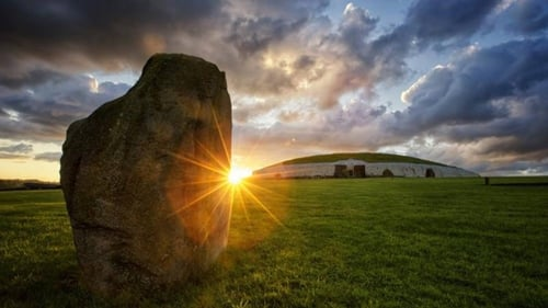 The Summer Solstice in Newgrange, Co Meath. Photo: Kevin Austin