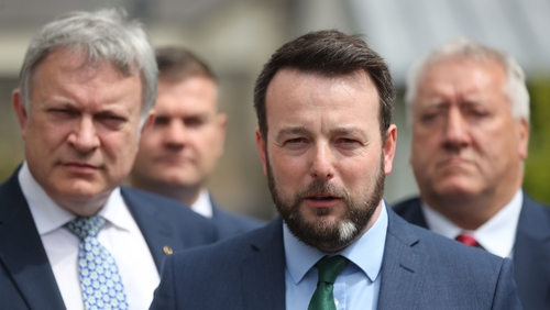 SDLP leader Colum Eastwood claimed it is not a matter of if but when the Executive is restored