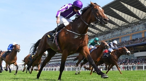 Ryan Moore guides Highland Reel home