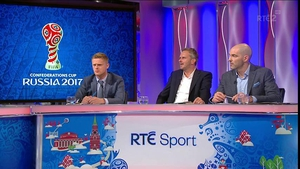 The panel discussed the comments made by James McClean and Martin O'Neill following the draw with Austria