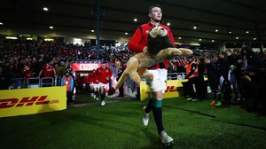 Peter O'Mahony will lead out the Lions on Saturday