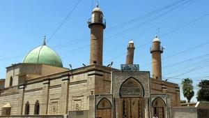Mosul's Grand al-Nuri mosque