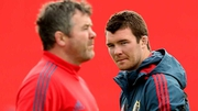 "Peter O'Mahony: ""Axel's a rugby man, so he would have told us all 'play your game, play what you do and what you know'."""