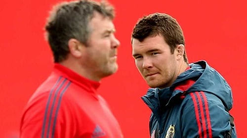 """Peter O'Mahony: """"Axel's a rugby man, so he would have told us all 'play your game, play what you do and what you know'."""""""