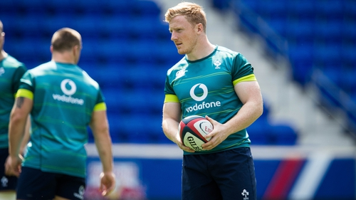 Leinster hooker James Tracy has been handed his first start for Ireland