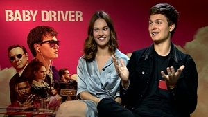 "Ansel Elgort (with Baby Driver co-star Lily James) - ""What if you could have a relationship that wasn't about texting, Instagram and FaceTiming? What if you could have a relationship that was based on human connection?"""