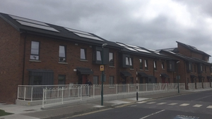 Social Housing units in Harold's Cross in Dublin