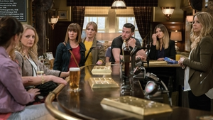 Rhona makes a shocking revelation at The Woolpack