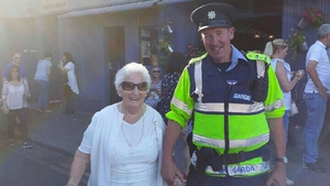 Mary Dent and Garda Reserve Paul Barnwell, photo by Barbara Scully