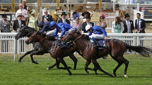 Jockey Ryan Moore edges Caravaggio to Commonwealth Cup victory