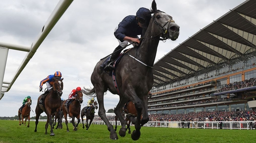 Ryan Moore on Winter wins the Coronation Stakes