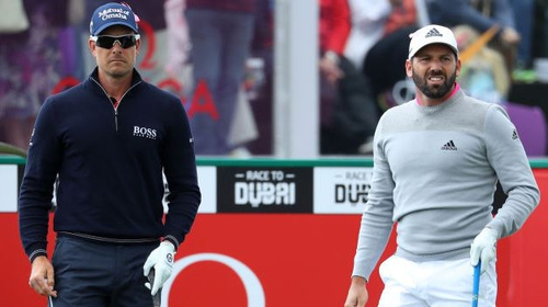 Sergio Garcia and Henrik Stenson trail leaders by one shot — BMW International