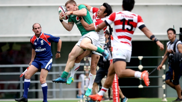 Ireland brushes aside Japan 35-13 to sweep two-test series