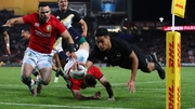 New Zealand were too strong for the Lions in the first test