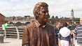 Statue of broadcaster Wogan unveiled in native Limerick