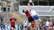 Monaghan lost out to Down by two points at the Athletic Grounds