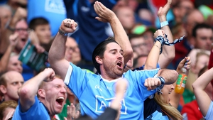 Dublin supporters in full voice