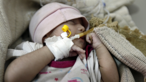 So far more than 1,300 people have died, one quarter of them children