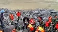 Over a hundred feared dead after a landslide in China