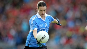 Sinead Aherne scored 3-04 in the rout of Laois