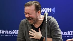 Ricky Gervais calls Dublin gig 'best of the tour'