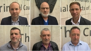 Six men face charges over the false imprisonment of former tánaiste Joan Burton and her adviser in November 2014