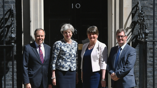 DUP and Conservatives reach deal