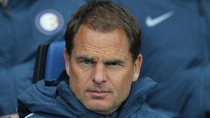 Frank de Boer lasted just four games with Crystal Palace