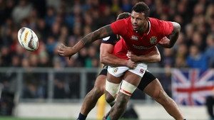 Lawes in action against the Highlanders