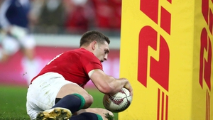 George North touches down